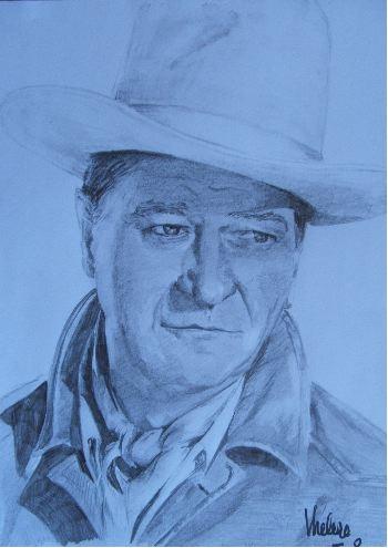 John Wayne by chamalow